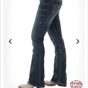 Sold. Cowgirl Tuff Co. jeans